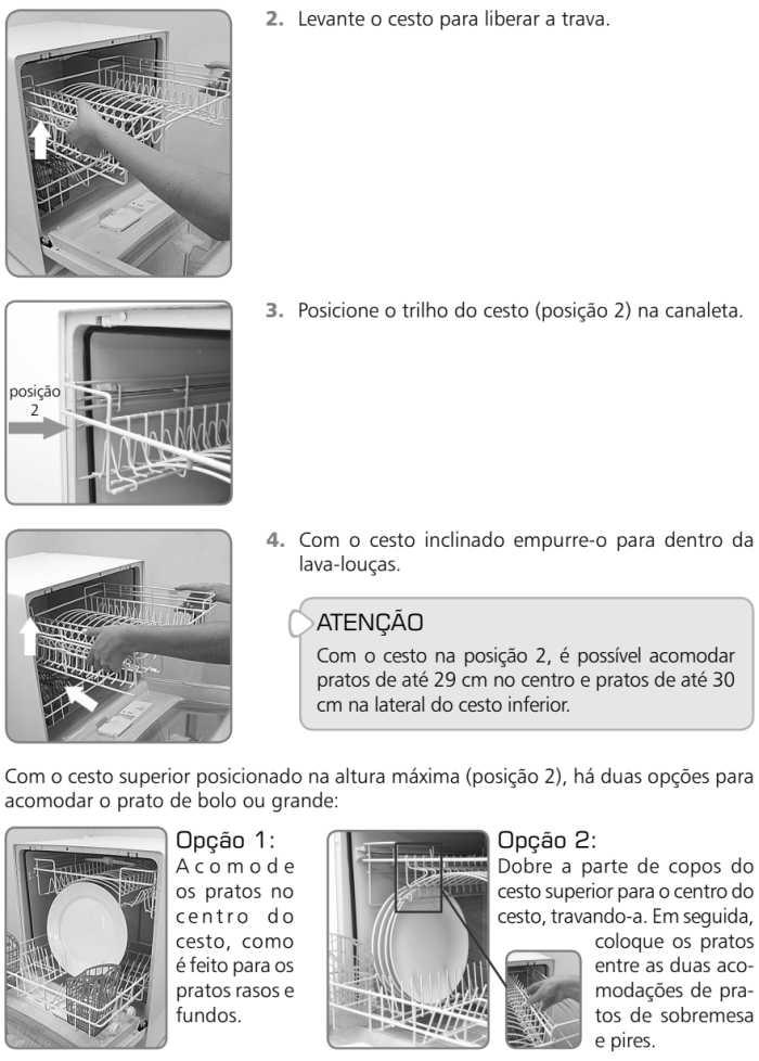 Lava louças Brastemp BLF08 - como usar 3