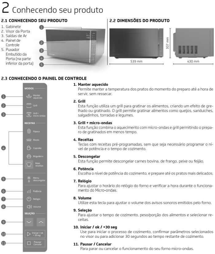Microondas Brastemp - conhecendo produto - BMG45 - 1