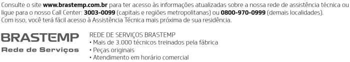 Microondas Brastemp - contato SAC