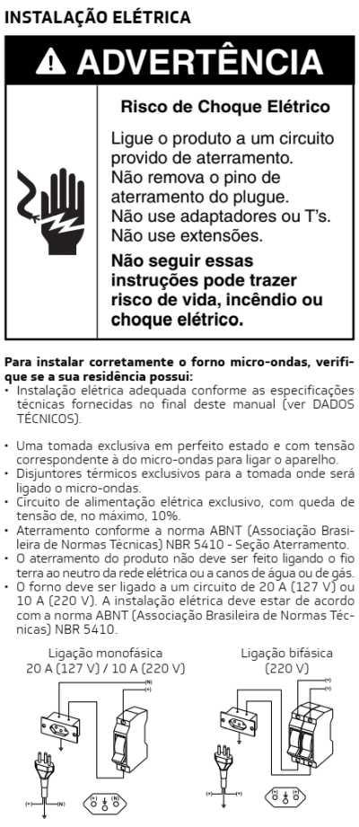 Microondas Brastemp - como instalar - BMS20 - 2
