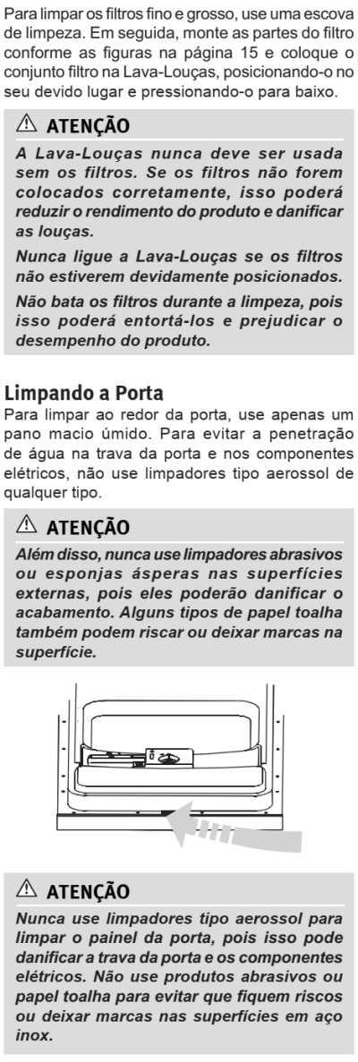 Lava louças Electrolux - LE09 - limpeza e manutenção 4