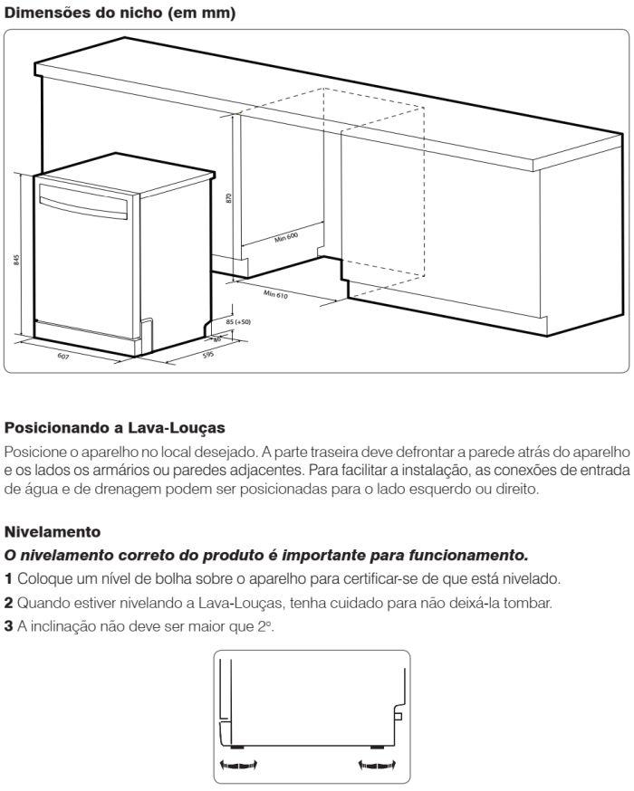 Lava louças Electrolux - LF14 - instalando produto 2