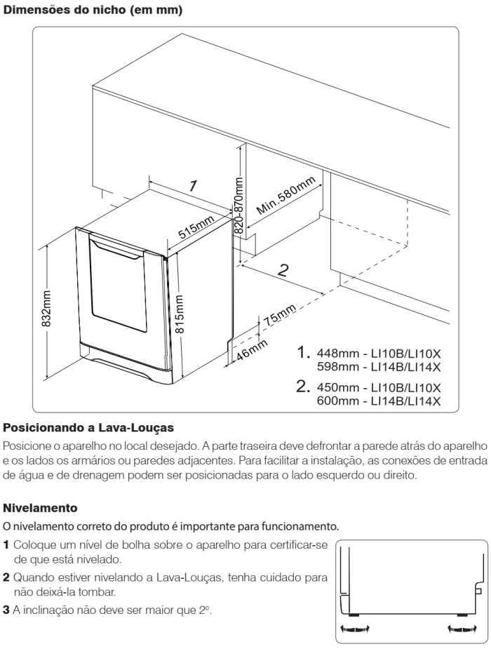 Lava louças Electrolux - LI14 - instalando produto 2