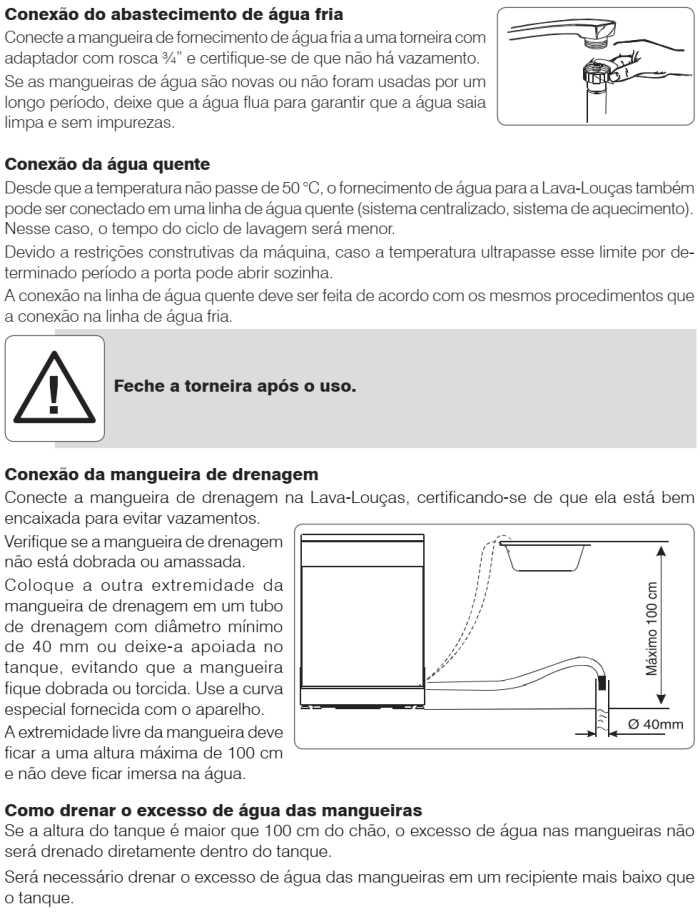 Lava louças Electrolux - LI14 - instalando produto 3