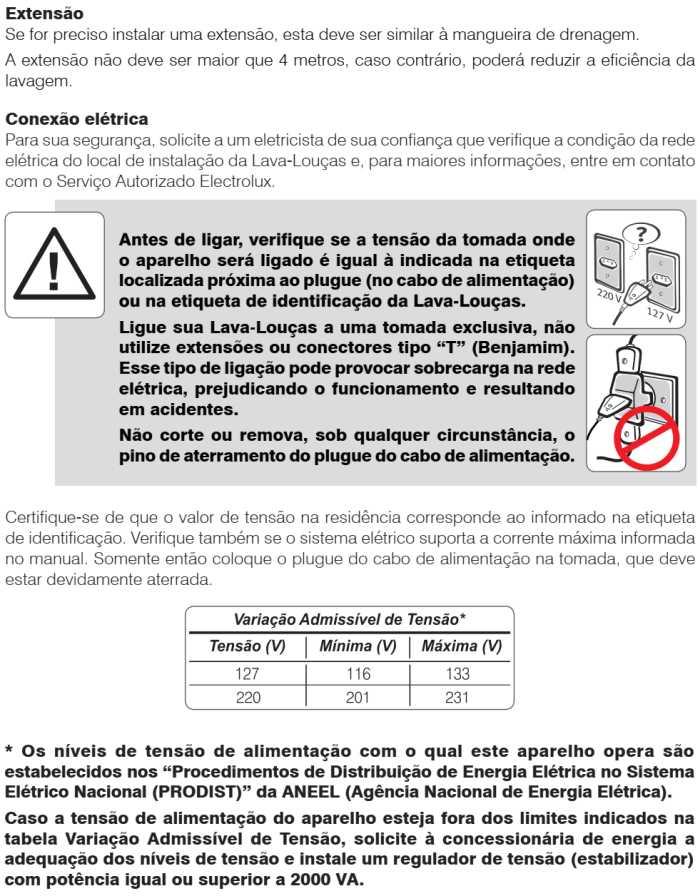 Lava louças Electrolux - LI14 - instalando produto 4