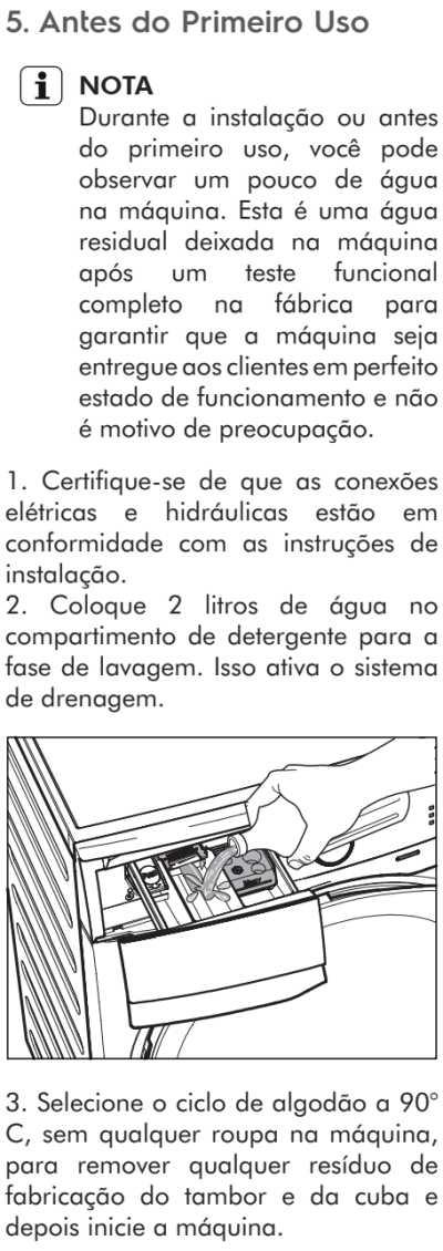 Lava e seca Electrolux - LSP08  - como usar 13
