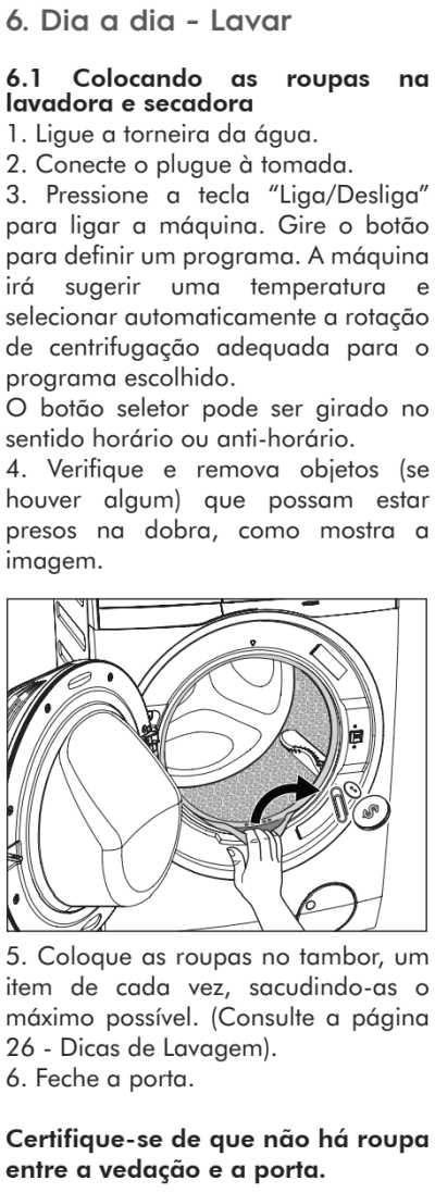 Lava e seca Electrolux - LSP08  - como usar 14