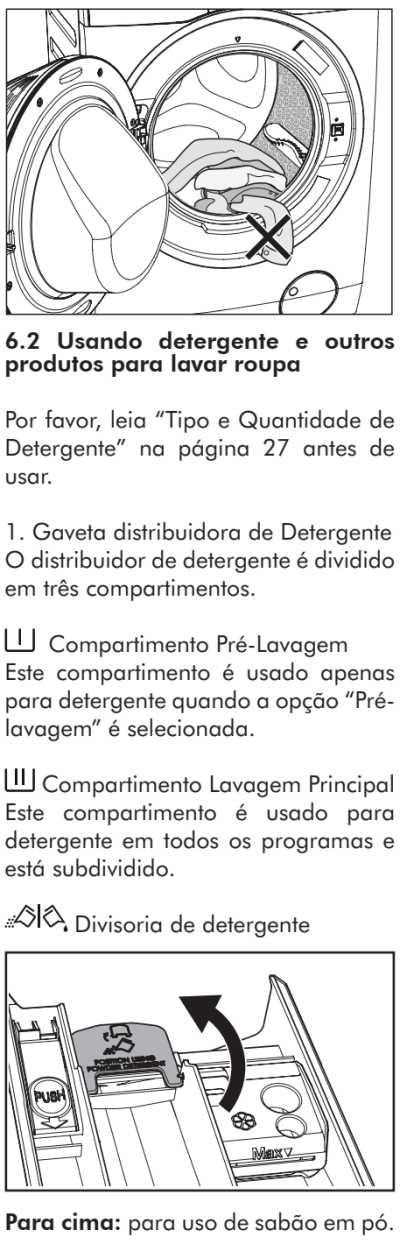 Lava e seca Electrolux - LSP08  - como usar 15