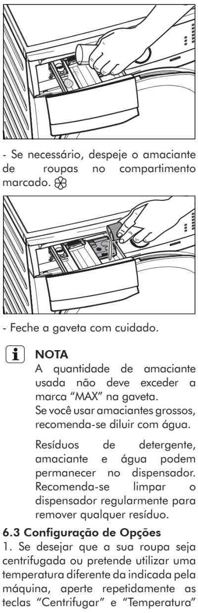 Lava e seca Electrolux - LSP08  - como usar 17