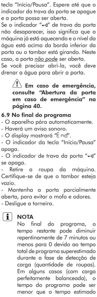 Lava e seca Electrolux - LSP08  - como usar 20