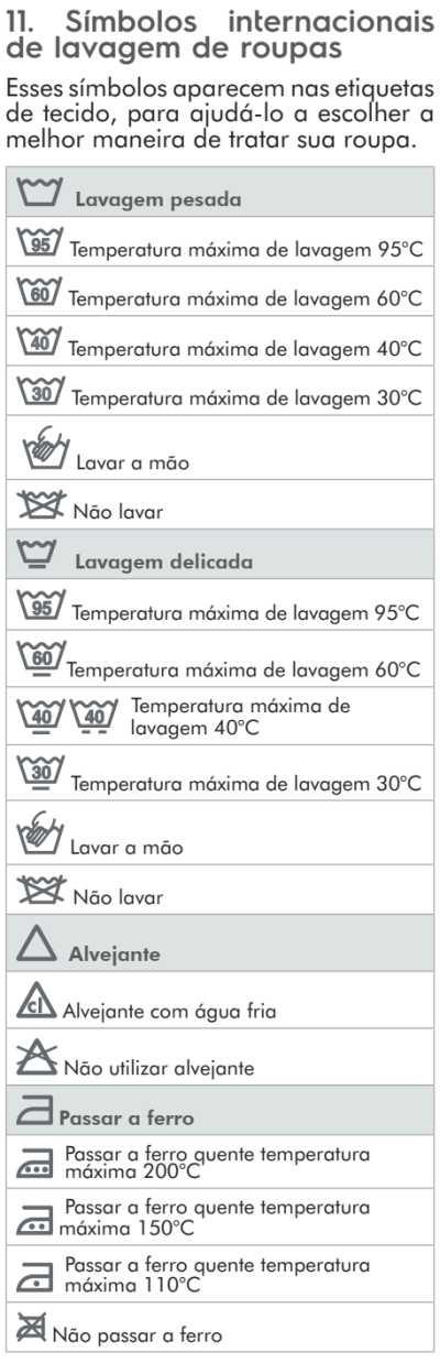 Lava e seca Electrolux - LSP11  - dicas de uso 8