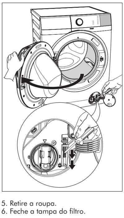 Lava e seca Electrolux - LSP11  - solução de problemas 7