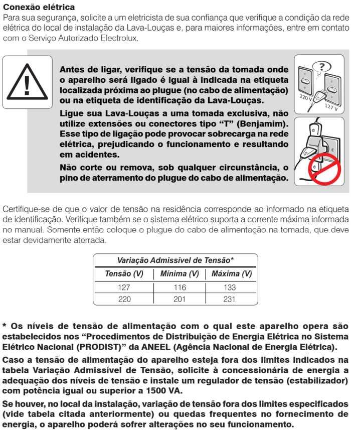 Lava louças Electrolux - LV08 - instalando produto 4