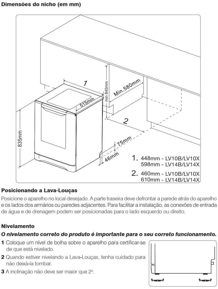 Lava louças Electrolux - LV14 - instalando produto 2