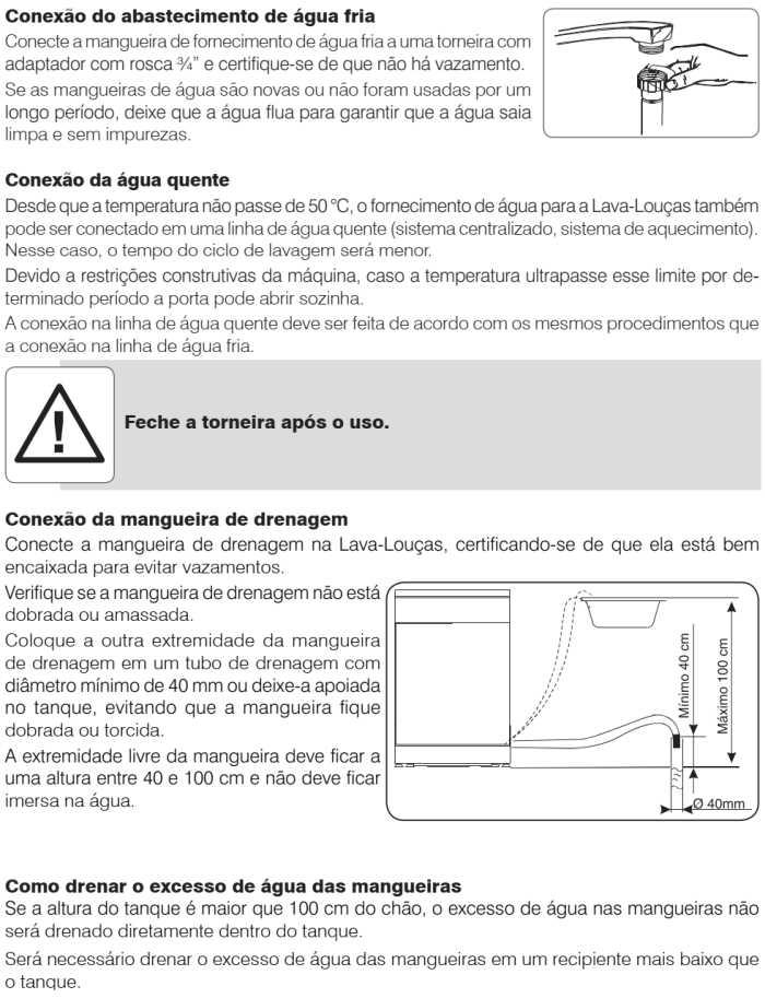 Lava louças Electrolux - LV14 - instalando produto 3
