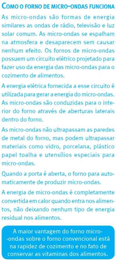Microondas Electrolux MB38P - como funciona micro-ondas