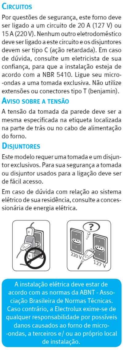 Microondas Electrolux MGA42 - como instalar - 5
