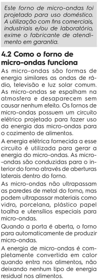 Microondas Electrolux ME41X - como funciona micro-ondas
