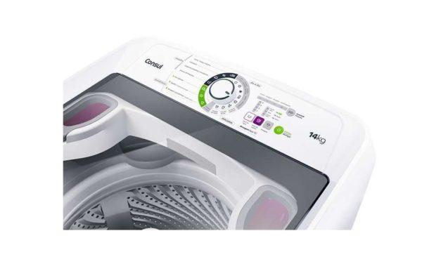 Medidas da lavadora de roupas Consul 14 Kg – CWH14