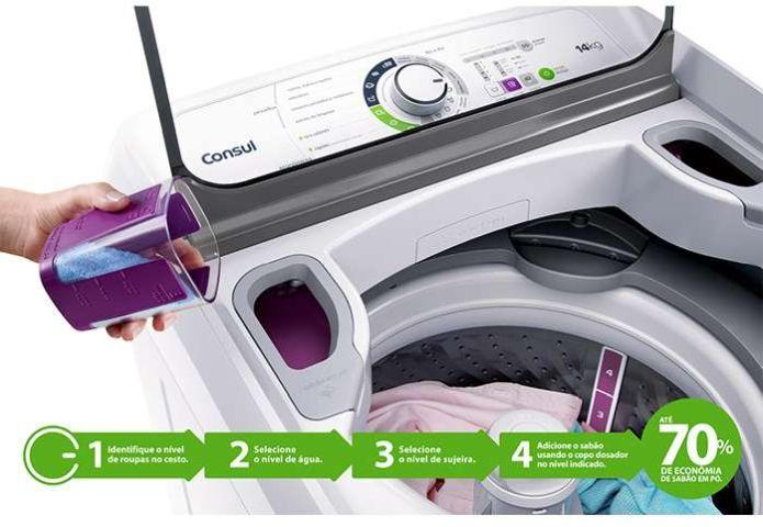 Lavadora de roupas Consul CWH14 - solução de problemas