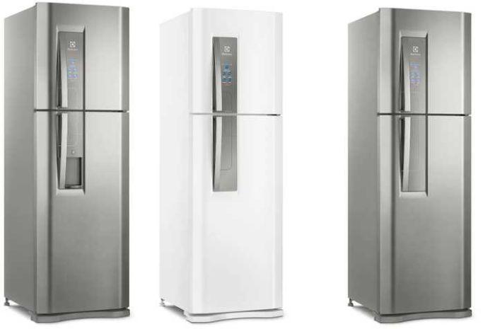Manual de instruções da geladeira Electrolux DF44