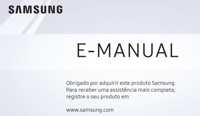 Smart TV Samsung - capa manual