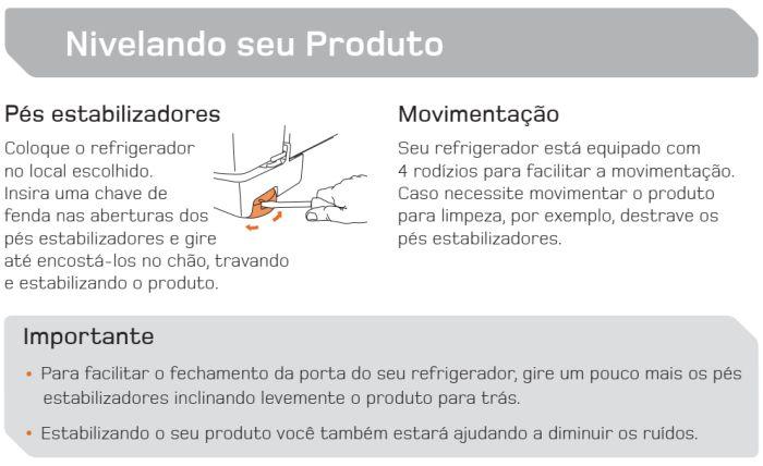 Geladeira Brastemp - BRE50 - conhecendo produto 2