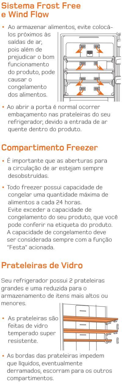 Geladeira Brastemp - BRE50 - conhecendo produto 5