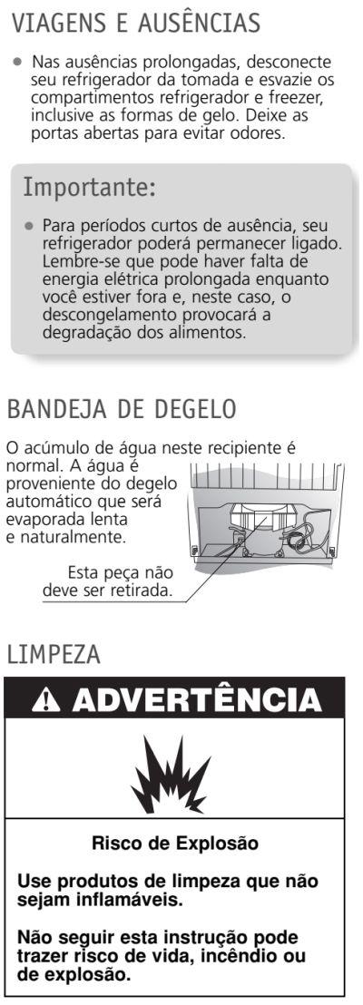 Geladeira Brastemp  - BRK50 - limpeza e manutenção 1