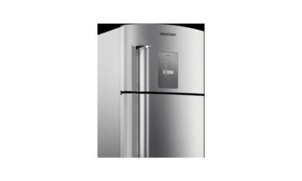 Como ajustar temperatura da geladeira Brastemp 403L – BRM47