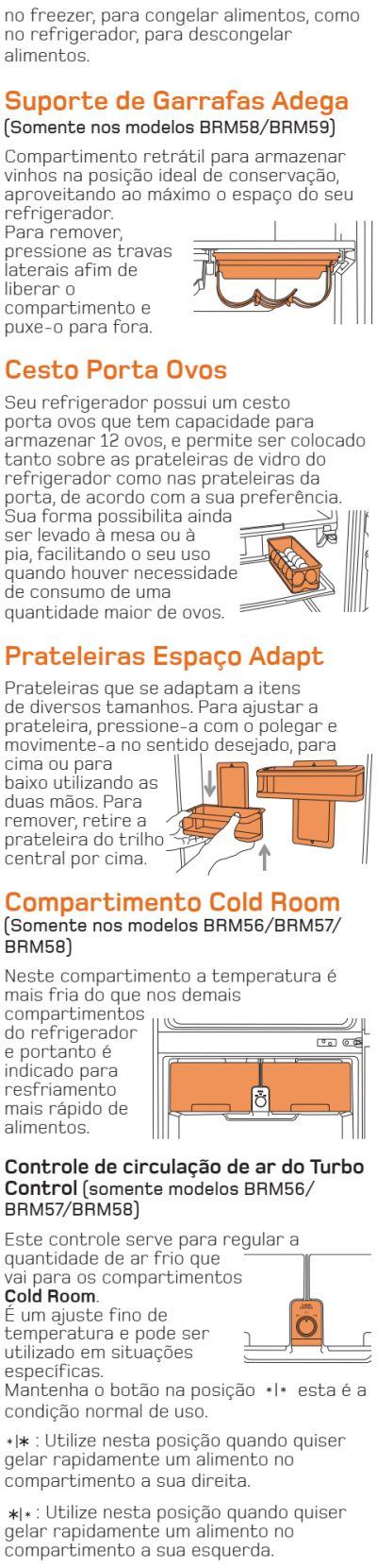Geladeira Brastemp - BRM57 - conhecendo produto 5