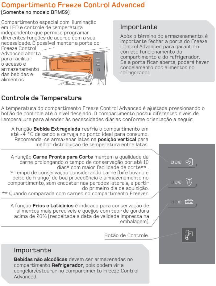 Geladeira Brastemp - BRM59 - conhecendo produto 5