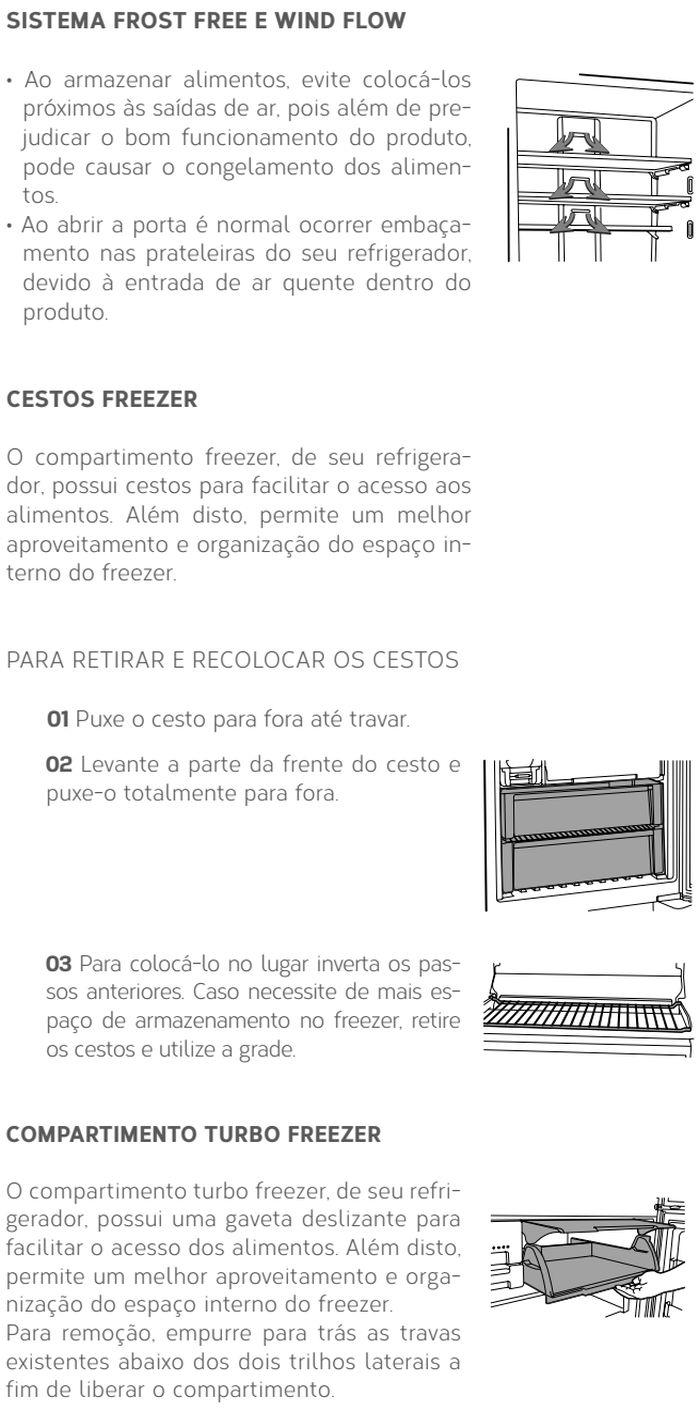 Geladeira Brastemp - BRO81 - conhecendo produto 2
