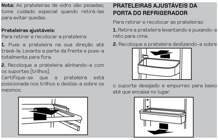 Geladeira Brastemp - BRS80 - conhecendo produto 8