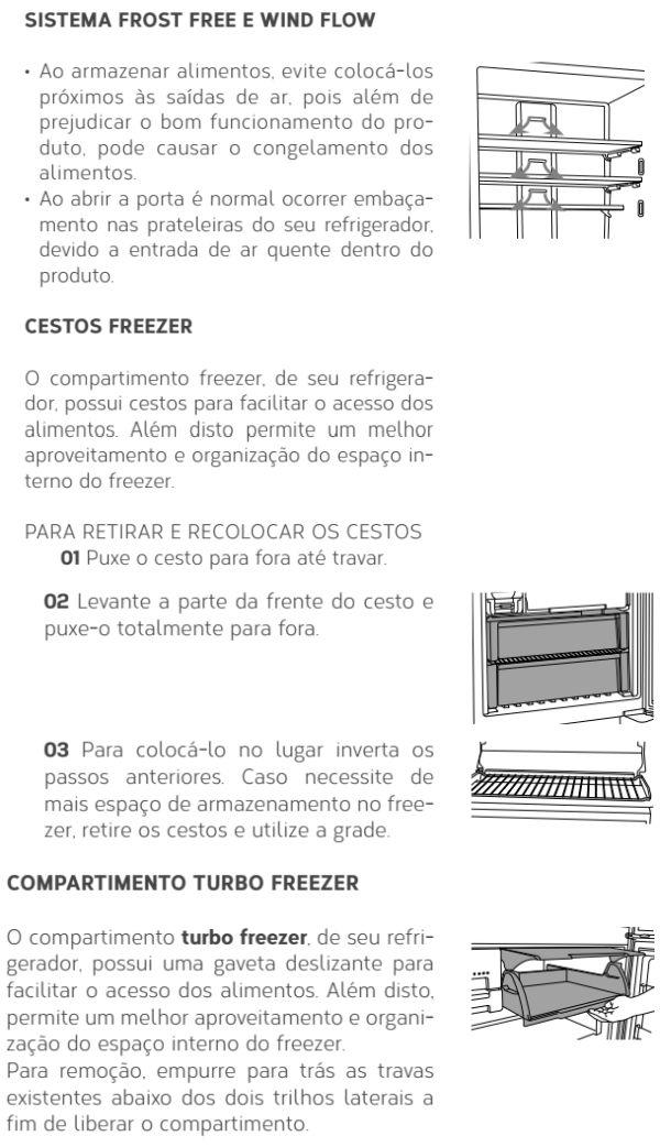Geladeira Brastemp - GRO80 - conhecendo produto 2