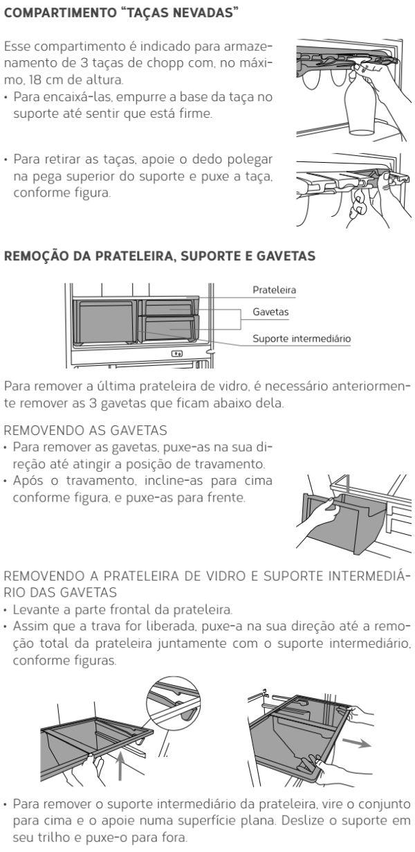 Geladeira Brastemp - GRO80 - conhecendo produto 3