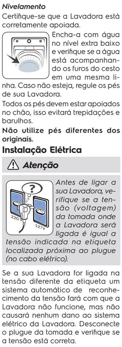 Lavadora de roupas Electrolux LT15F - como instalar 2