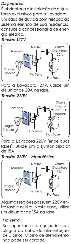 Lavadora de roupas Electrolux LT15F - como instalar 4