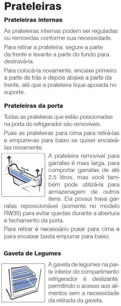 Geladeira Electrolux - conhecendo os componentes do RE31 - 4