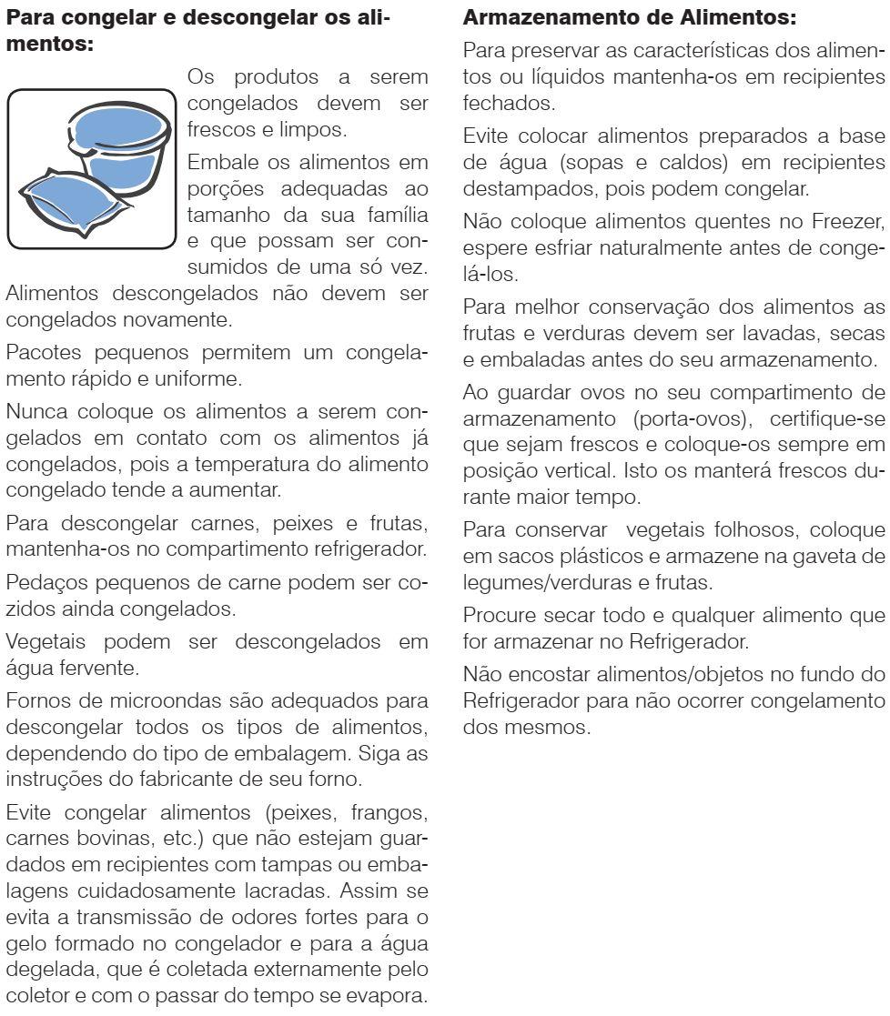 Geladeira Electrolux RFE39 - dicas e conselhos 2