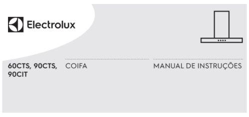 Coifa Electrolux - capa manual