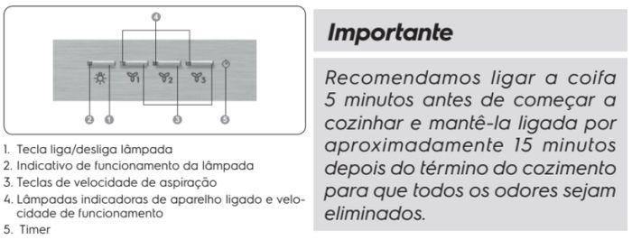 Coifa Electrolux - 70CS - usando produto - 1