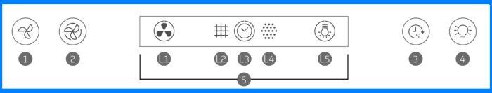 Coifa Brastemp  BAP90 - como usar- 1