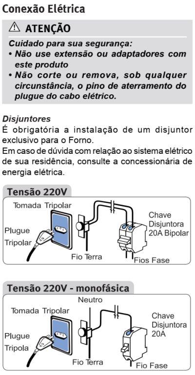 Forno elétrico Electrolux - como instalar OE7MX - 3