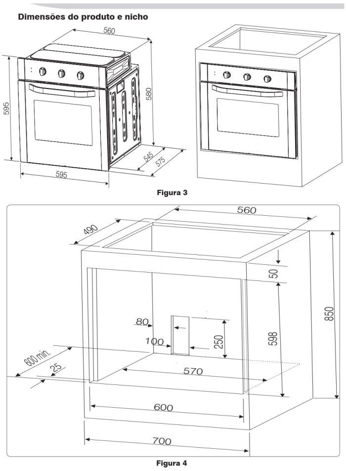 Forno elétrico Electrolux - como instalar OG8MX -3