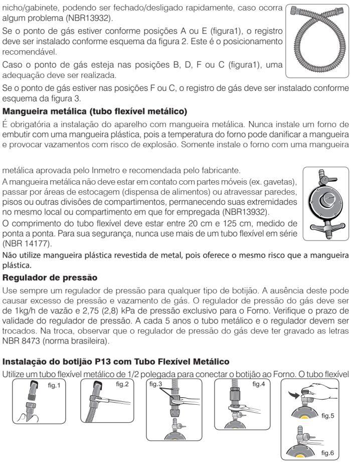 Forno elétrico Electrolux - como instalar OG8MX -9
