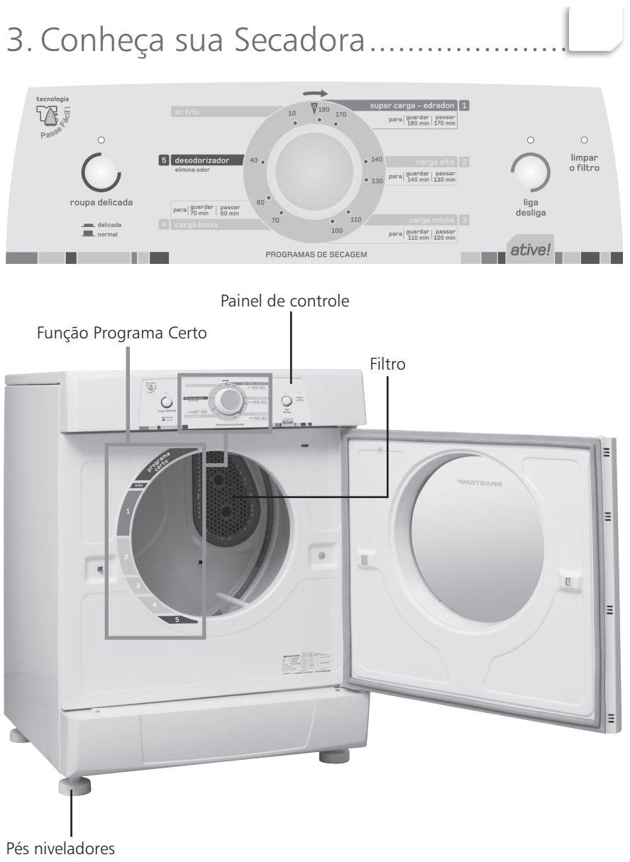 Secadora de Roupas Brastemp - BSR10 - conhecendo produto 1