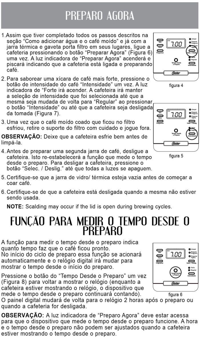 Cafeteira elétrica Oster - BVSTDC4401 - usando produto 3