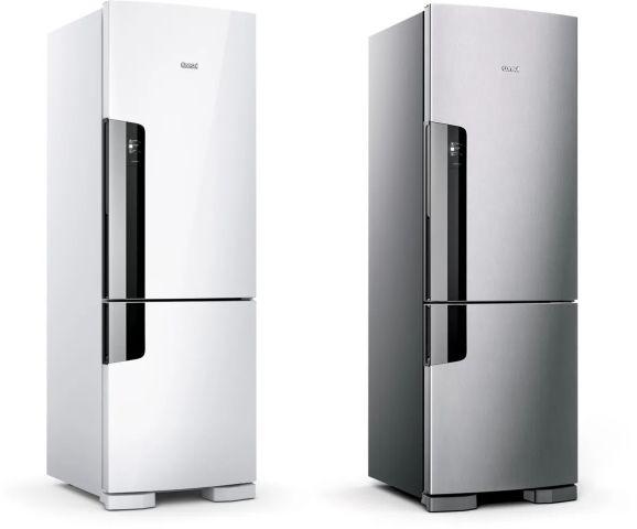 Medidas da geladeira Consul - CRE44