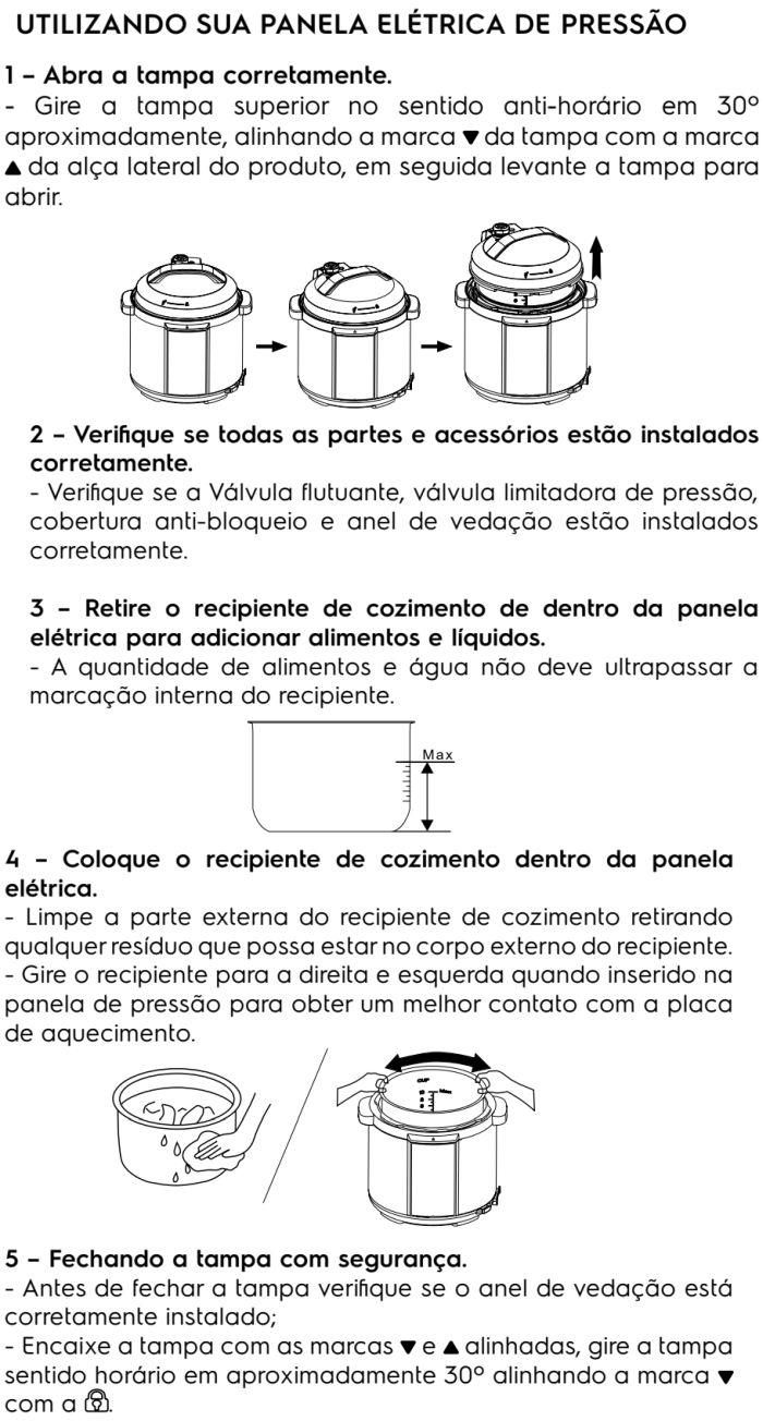 Panela de pressão elétrica Electrolux - PCC20 - usando produto 2